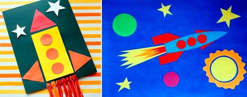 ракеты и звезды