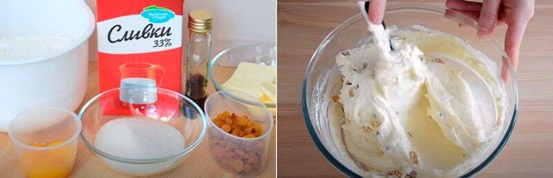 готовим пасху с изюмом