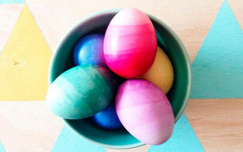 яйца омбре