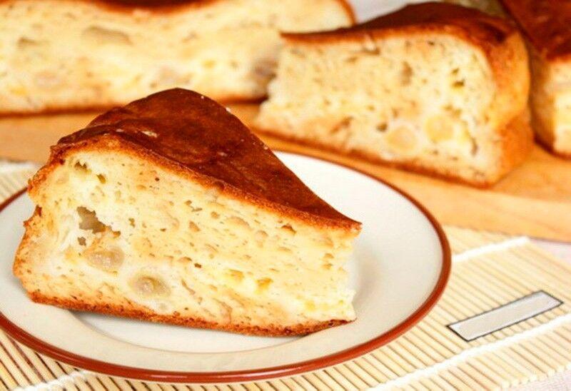 пирог кефирный