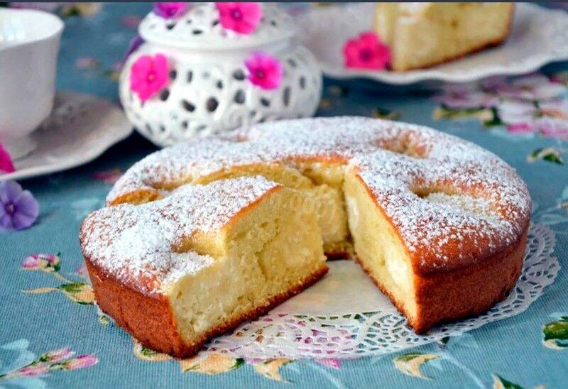 пирог на кефире в духовке