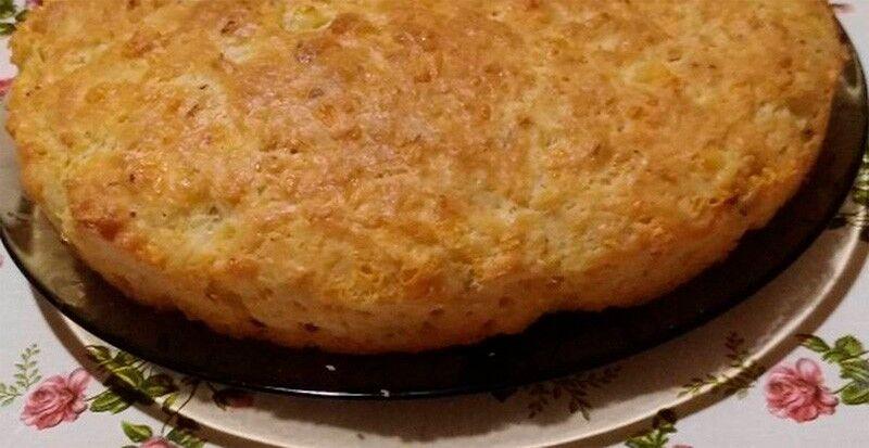 сладкий пирог на кефире в духовке на скорую руку